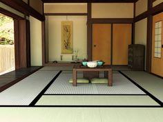 modern japanese living room design with teaset ~ http://lanewstalk