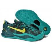 Nike Zoom Kobe VIII Mens Basketball Shoes Army Green $89.90