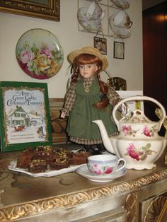 """Bernideen's Tea Time Blog: A CUP OF TEA WITH """"ANNE OF GREEN GABLES"""""""
