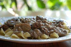 Aldi Recipes: Ground Beef Stroganoff | AldiMom.com