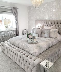 64 modern and simple bedroom design ideas 7 - Home ideas - Bedroom Decor Dream Rooms, Dream Bedroom, Home Bedroom, Modern Bedroom, Bedroom Decor, Bedroom Candles, Beds Master Bedroom, Contemporary Bedroom, Bedroom Small
