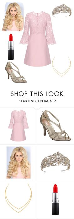 """Sleeping Beauty"" by caple-j ❤ liked on Polyvore featuring Valentino, Pink Paradox London, Lana and MAC Cosmetics"
