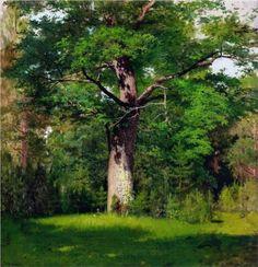 Oak - Isaac Levitan, 1880, The Tretyakov Gallery, Moscow, Russia