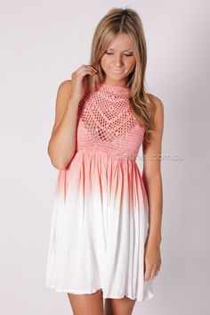 sunset midst dress