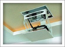 Chief's projector kits provide an all-in-one solution with a projector mount, ceiling plate and extension column for quickly mounting a projector. Description from chiefmfg.com. I searched for this on bing.com/images