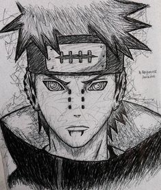#Repost drawing of (Yahiko or Nagato) from Naruto Shippuden....next portrait drawing is on the way . . . . . . . . . #narutoshippuden#naruto#narutouzumaki#sasuke#sasukeuchiha#uzumaki#uchiha#anime#manga#mangaart#animeart#animeartassistant#animepencildrawing#animeartshelp#animeartcollective#animefeature#instaart#instaanime#quicksketch#lazysketch#hinata#narutothelast#bnha#mha#work_manga#featureland#animearttr#anime_sketches25#animeartist Naruto Sketch, Naruto Drawings, Anime Drawings Sketches, Marvel Drawings, Anime Sketch, Cool Drawings, Anime Character Drawing, Anime Drawing Styles, Manga Drawing