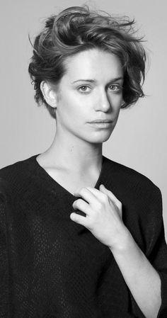 Daniella Kertesz, Actress: World War Z. Daniella Kertesz was born on March 1989 in Jerusalem, Israel. She is an actress, known for World War Z Autonomies and Incitement Short Wavy Haircuts, Short Hair Cuts, Butch Haircuts, Tomboy Hairstyles, Pretty Hairstyles, Cut My Hair, New Hair, Hair Inspo, Hair Inspiration