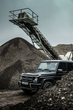 No matter how rough the tracks look like -  The G copes with all of them! Photo by Frederic Seemann (www.fredericseemann.de) for #MBsocialcar [Mercedes-AMG G 63   Fuel consumption combined: 13.8 l/100km   combined CO₂ emissions: 322 g/km   http://mb4.me/efficiency_statement]