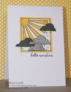 Shimmer and Shine - Hello Sunshine - #StampinUp, #SoYou, #PerpetualCalendar