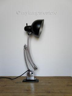 Lamp Kaiser Idell - rare model 6559 (Jdell)