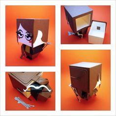 Paper Craft Favor Boxes