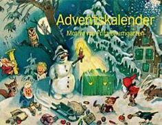 Nostalgie im Advent. Motive von Fritz Baumgarten