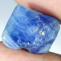 27.20Cts. 100% NATURAL LAVENDER BLUE TANZANITE EXCLUSIVE SPECIMEN FACET ROUGH #Handmade