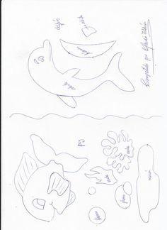 Molde de delfines -