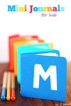 DIY Mini Journals for Kids
