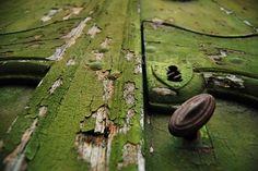 Texturas de una puerta misteriosa