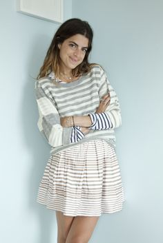 a girl can never have too many #stripes!