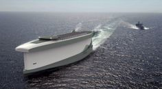 Future technology Concept a new type of sailing vessel