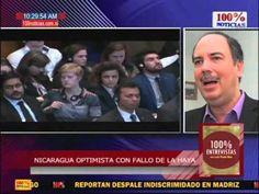 100% Entrevistas. Optimismo de Nicaragua sobre fallo de la HAYA debe ser moderado, dice experto - YouTube
