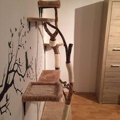 1000 id es sur le th me kratzbaum selber bauen sur. Black Bedroom Furniture Sets. Home Design Ideas