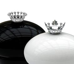 Crown salt and pepper shakers, via Beautiful Life blog