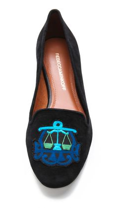 Rebecca Minkoff scales of justice flats