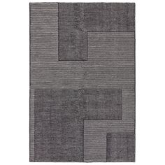 Striped rug design by Tom Dixon Contemporary Rugs, Modern Rugs, Textiles, Tom Dixon, Striped Rug, White Rug, Black Rug, Cool Rugs, Round Rugs