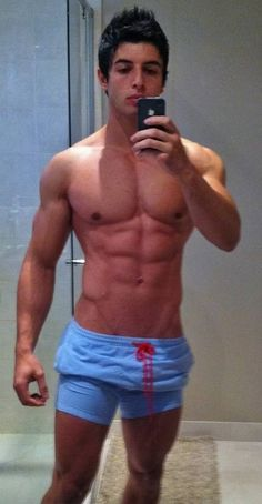 /locker room-mirror-iphone-man