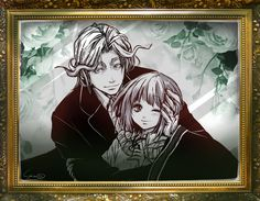 Elias Ainsworth version humain et Chise Hatori - Mahou Tsukai no Yome