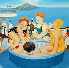 One of my favourites by Beryl Cook