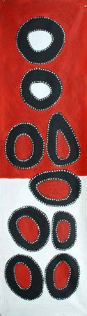 Jalala Marking Stones by Jack Dale Mengenen Aboriginal Painting, Aboriginal Artists, Dot Painting, Silk Painting, Pop Art Wallpaper, Arte Tribal, Art Premier, Art Folder, Australian Art