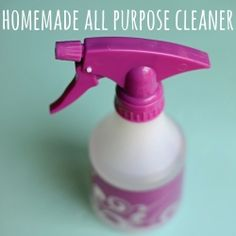 Homemade all purpose cleaner - nontoxic, super easy, and cheap! what could be better?