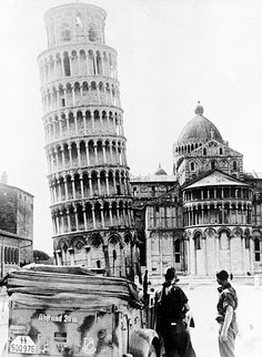 The story of how a 23-year-old American soldier saved the Leaning Tower of Pisa during World War II.