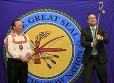 Irish prime minister thanks Choctaw Nation in Oklahoma