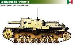 Semovente M40 da 75/18 Assault Gun