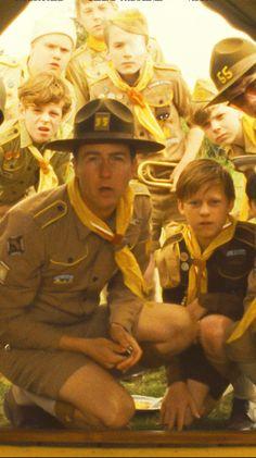 Edward Norton as Scout Master Ward in 'Moonrise Kingdom' - Costume Designer: Kasia Walicka-Maimone