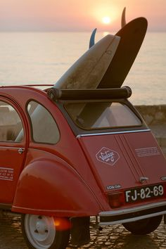 An amazing Vintage surf car.