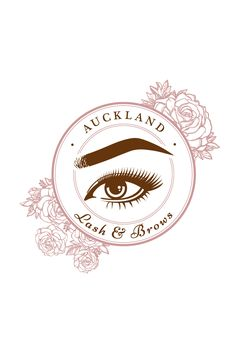 Logo design for Auckland Lash & Brows. This beauty clinic specialises in custom tinting, shaping and eyebrow micro-blading. Feminine, soft, pretty and floral. Design by Cheyney is a small business providing a range graphic design solutions. Cheyney is based in Auckland, New Zealand but creates artwork for a range of clients all over the world.