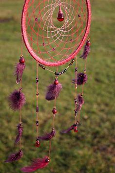 Dream Catcher/ Dreamcatcher/ Burgundy bird