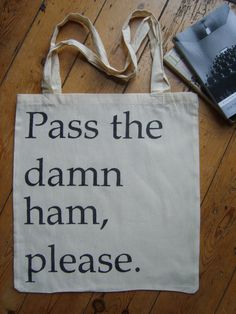 Harper Lee Pass the damn ham To Kill A Mockingbird by Cloudshaped, $18.81