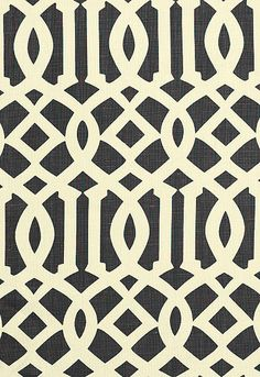 Love the Imperial Trellis fabric from Kelly Wearstler for Schumacher available from Orient House