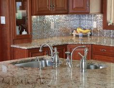 backsplash with granite countertops | Granite-Backsplash