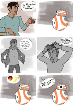 BB-8: If Poe is Cassian then who would I-- !?!*^₽!