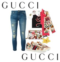 """""""Presenting the Gucci Garden Exclusive Collection: Contest Entry"""" by yamii-perea ❤ liked on Polyvore featuring Gucci, MICHAEL Michael Kors and gucci"""