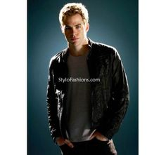 Star Trek Chris Pine (James T Kirk) Leather Jacket