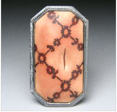 Tricia Harding is one of my favorite jewelers. I love her enamel work especially.