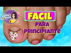 Decoración Para Uñas de los pies/Uñas Turqueza/decoración uñas pies - YouTube