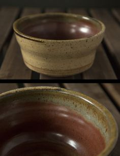 Rick Bajornas. red speckled clay. glazed inside with randy's red, outside with transparent