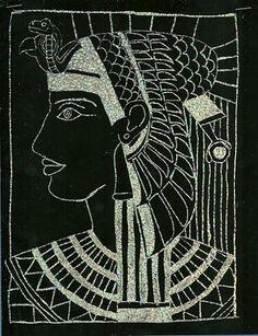 Egyptian Scratch Art