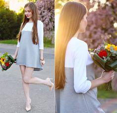 Ariadna M. - White & Grey